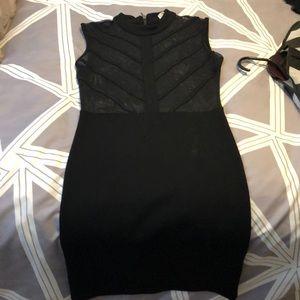 Black Parasuco dress with sheer top🔥